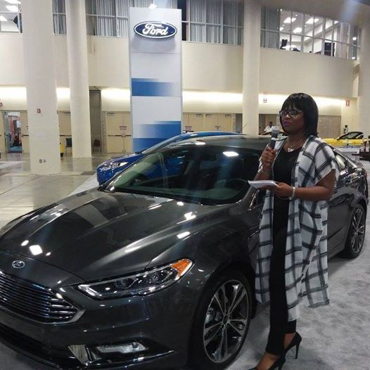 THAT TIME I COHOSTED THE FT LAUDERDALE AUTO SHOW FORD - Fort lauderdale car show