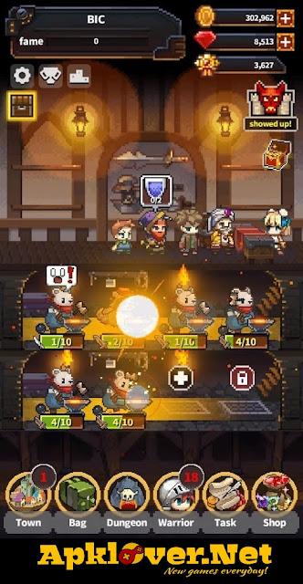 Warriors Market Mayhem APK MOD