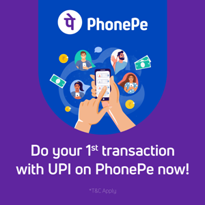 Click here & install PhonePe