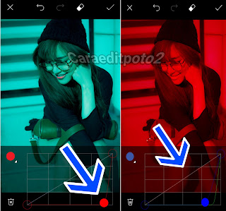 Edit Foto PicsArt Efek Glitch di Android