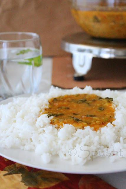 Spusht | Yellow Lentils with Mixed Vegetables