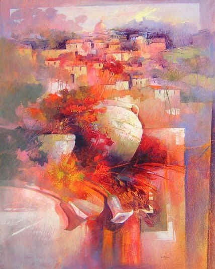 "Beautiful Paintings by ""Claudio Perini"" - An Italian Painter"