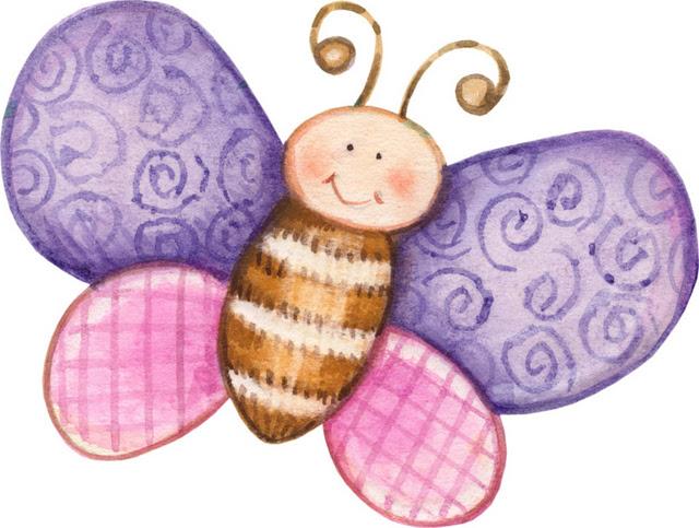 Mariposas infantiles para imprimir imagenes y dibujos para imprimir - Mariposas para decorar ...
