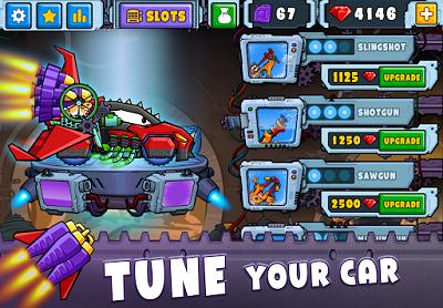 Download Car Eats Car 2 v2.0 Mod Apk (Unlimited Money)