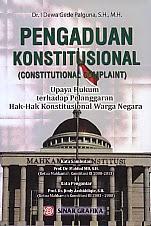 BUKU PENGADUAN KONSTITUSIONAL