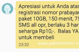 Cara Dapat Kuota Gratis Telkomsel 10GB Nol Rupiah Terbaru