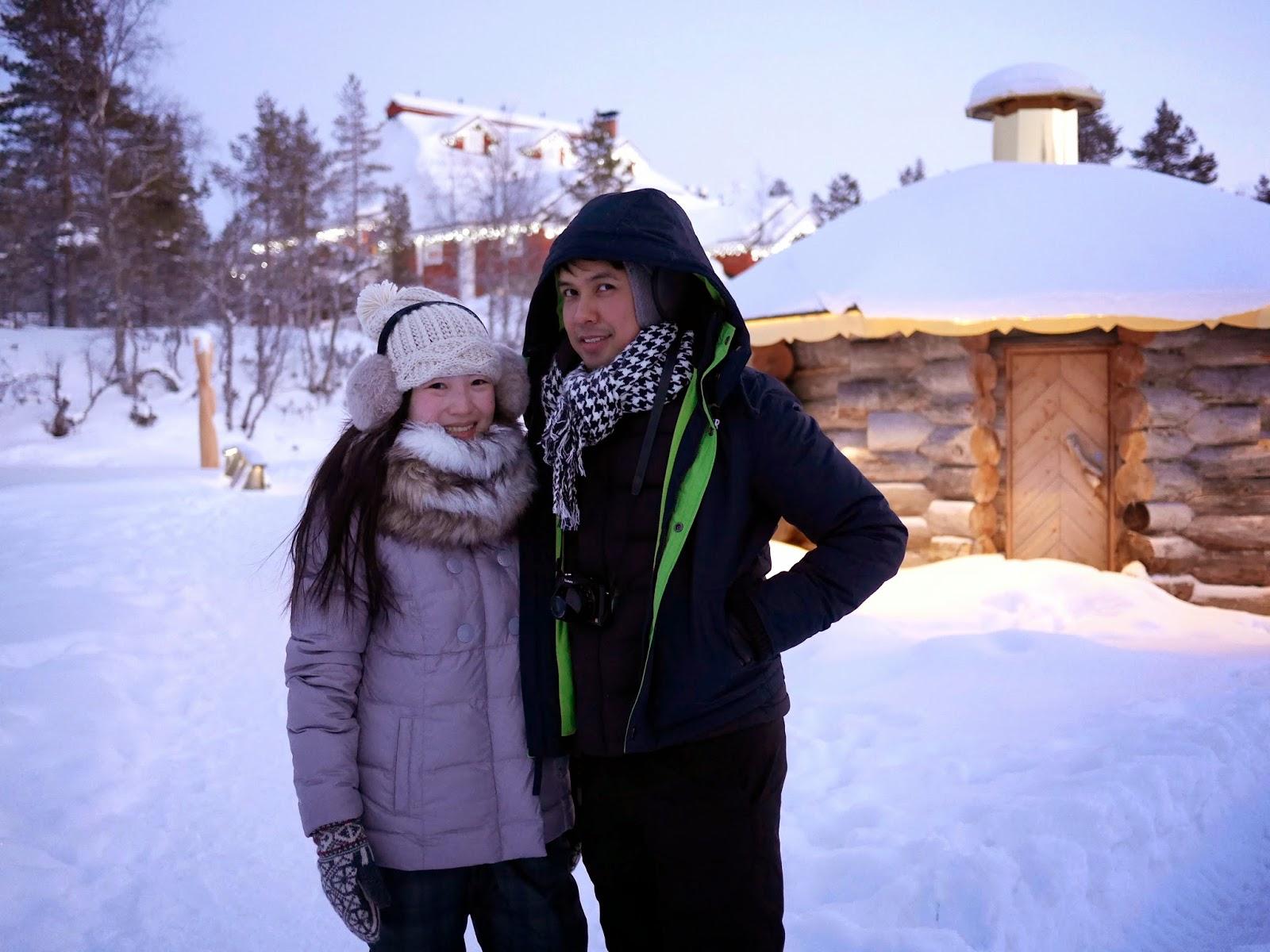 Winter at Kakslauttanen, Finnish Lapland
