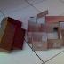 Cara Membuat Miniatur Rumah Adat Jawa dari Kertas Kardus