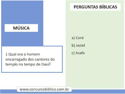 Perguntas Bíblicas Musica