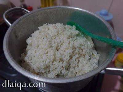 nasi uduk telah matang
