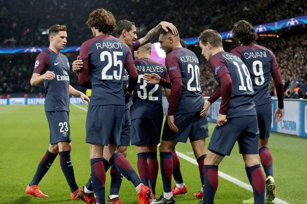 PSG Kalahkan Anderlecht 5-0 Dengan Hat Trick Layvin Kurzawa