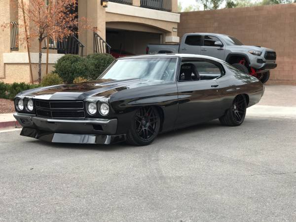 Pro Touring Cars For Sale >> 1970 Pro Touring Chevelle Buy American Muscle Car
