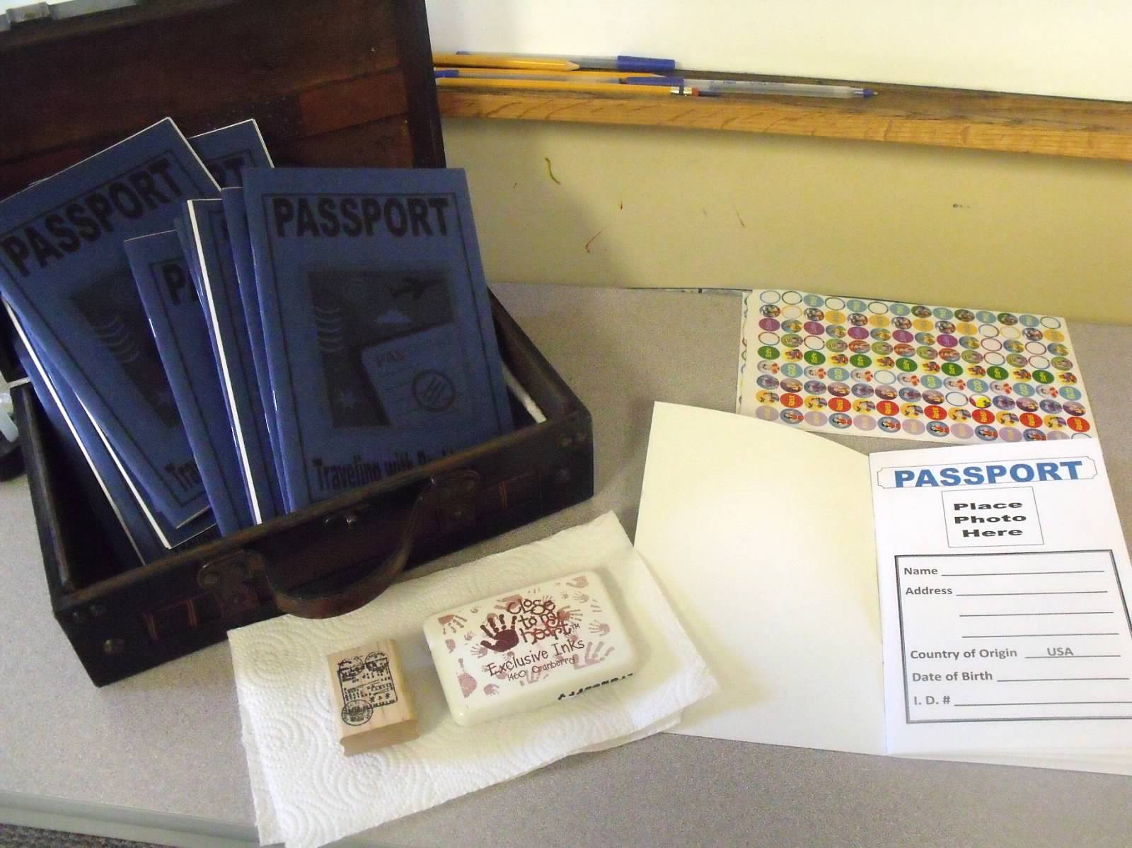 Bible Fun For Kids Acts Passports