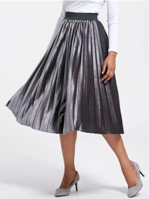 gamiss, my wishlist, moja višlista, suknja, skirt, gray, metallic, siva, fashion, moda, online shop, onlajn sajt, elegant,