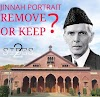 Jinnah Controversy - Keep or Remove the Portrait?