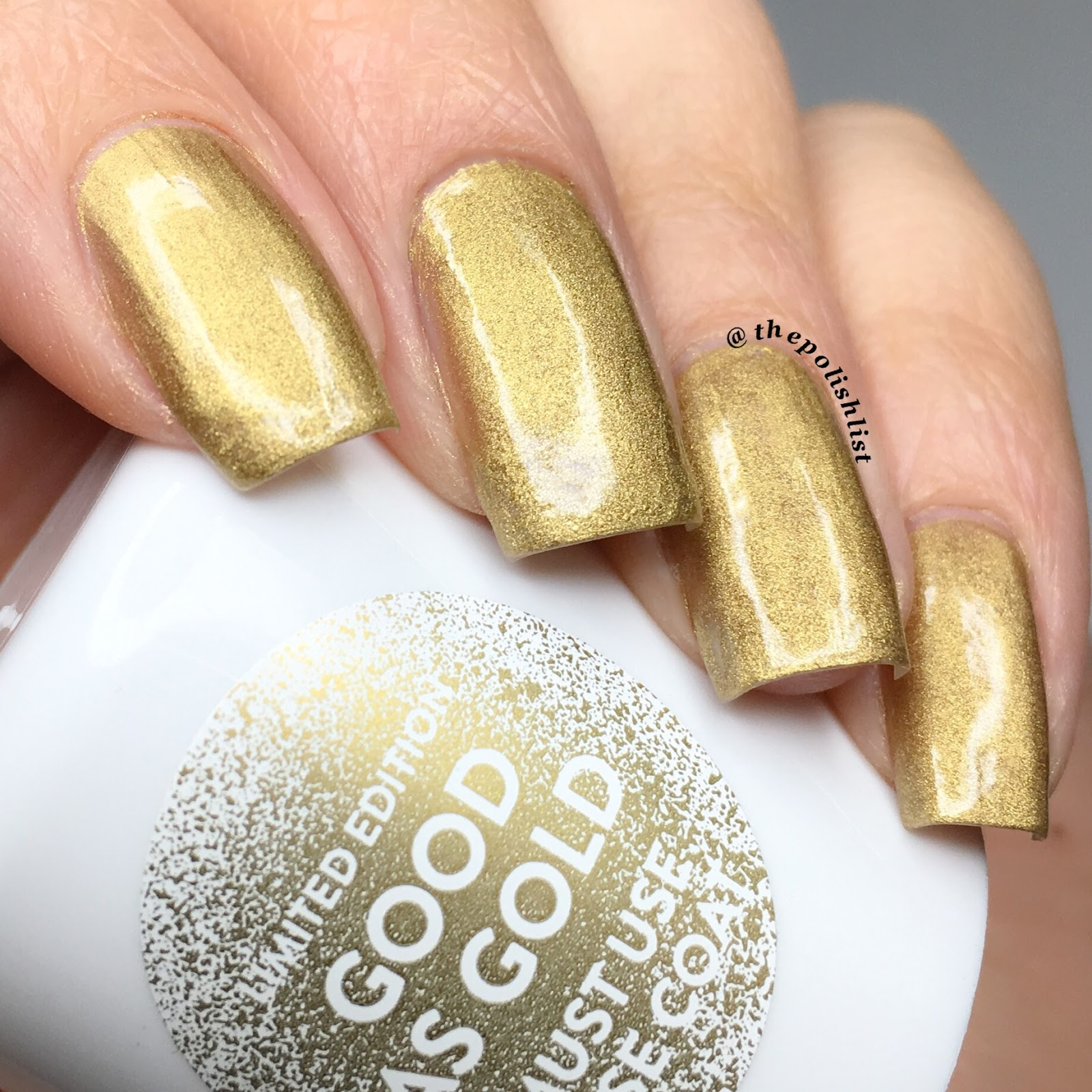 Does it work nails inc paint can spray on nail - Nails Inc Good As Gold Paint Can Spray