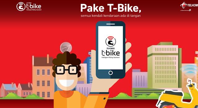 Mengenal Layanan Telkomsel T-Bike
