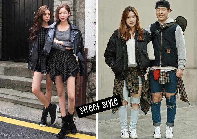 Moda Coreana: street style