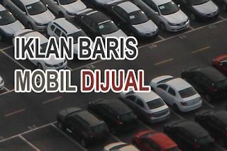 Iklan Baris Poskota Mobil Dijual