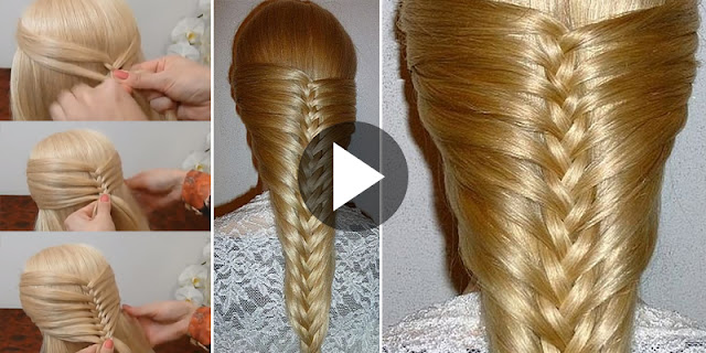Learn - How To Create New French Braid Hairstyle, See Tutorial