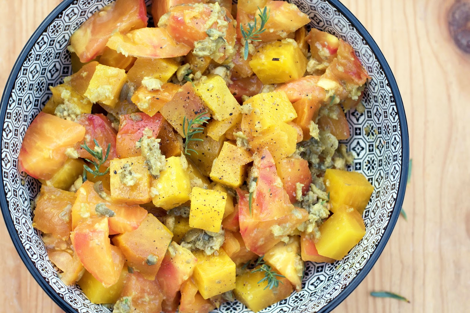 recette Salade betterave jaune