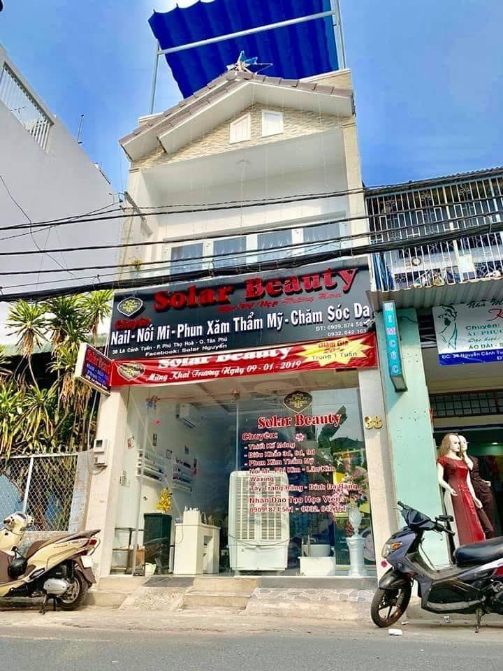 Bán nhà mặt tiền Lê Cảnh Tuân, phường Phú Thọ Hòa, quận Tân Phú. DT 4,2x14m