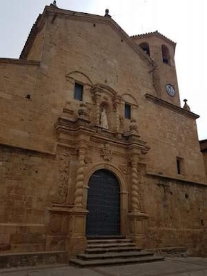 San Bartolomé, Beceite, campanario, festa dels piñols