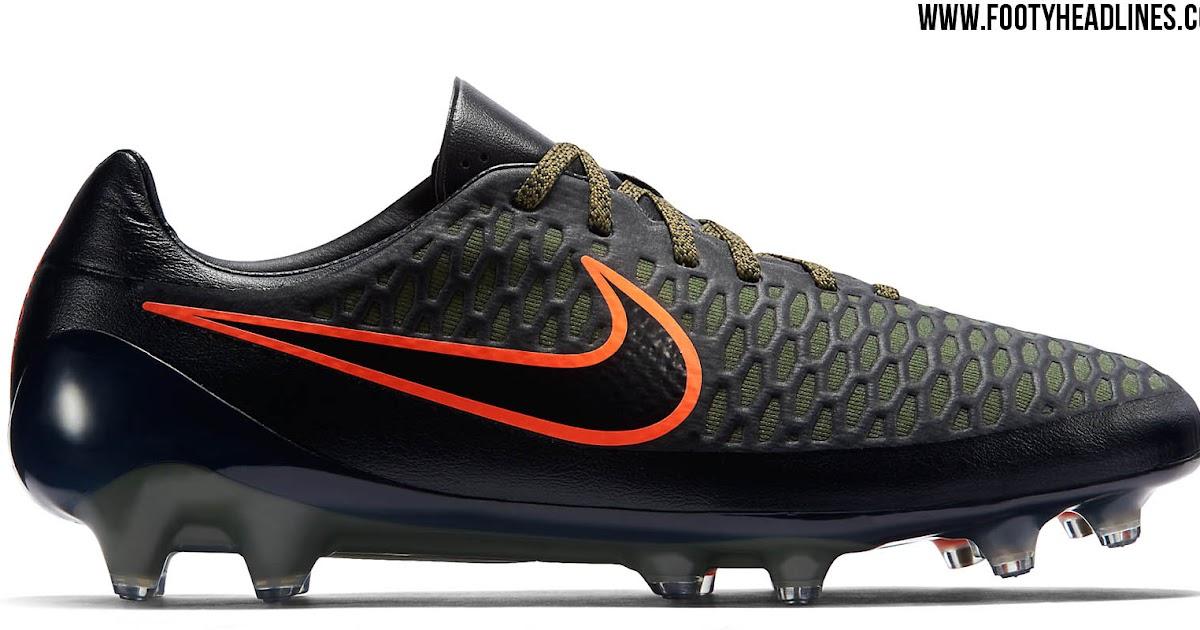 Black   Orange Nike Magista Opus Summer 2015 Boots Released - Footy ... 80904b83dd49