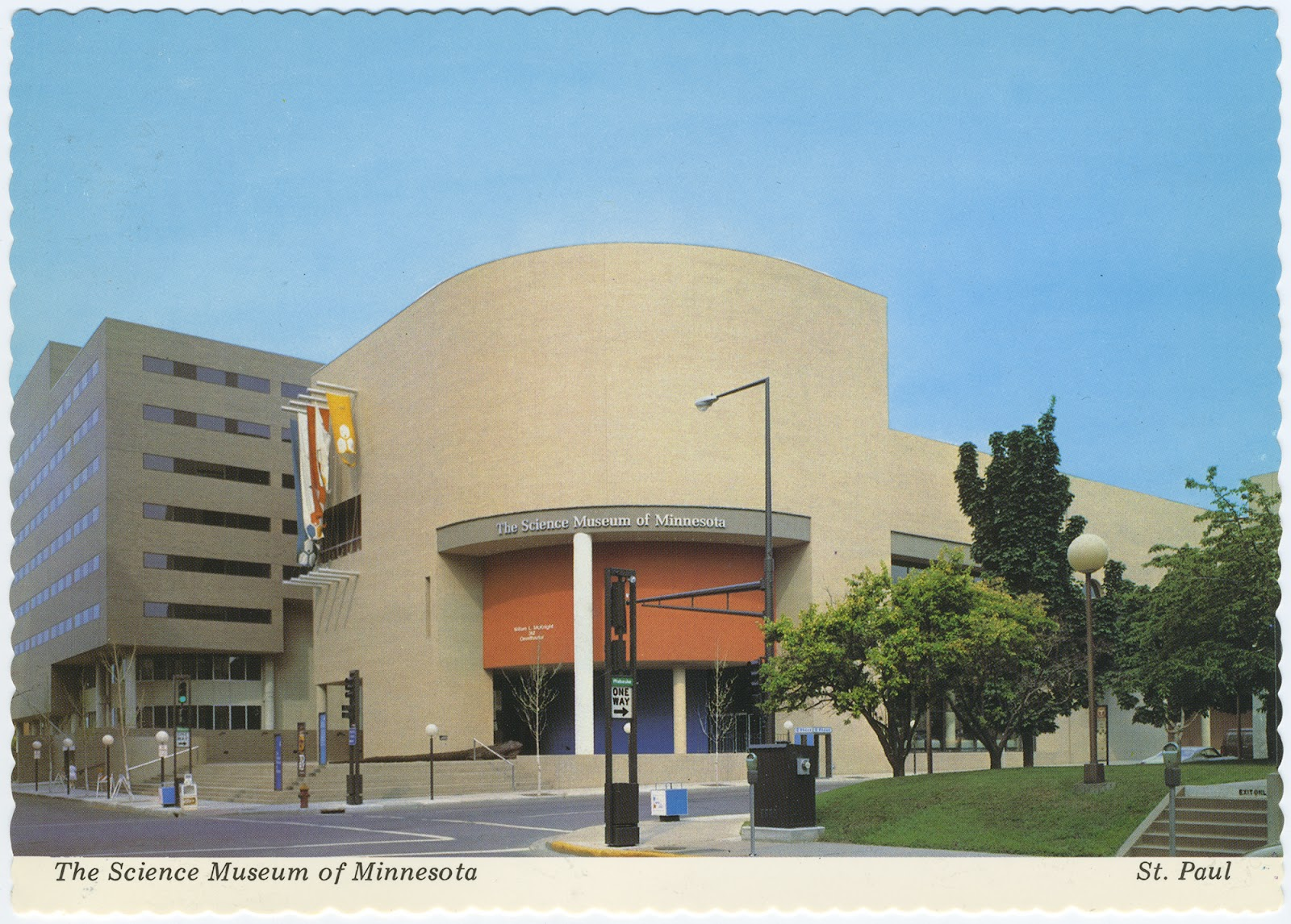 Science house at the science museum of minnesota - Postcard Of The Science Museum Of Minnesota St Paul Minnesota Circa 1990