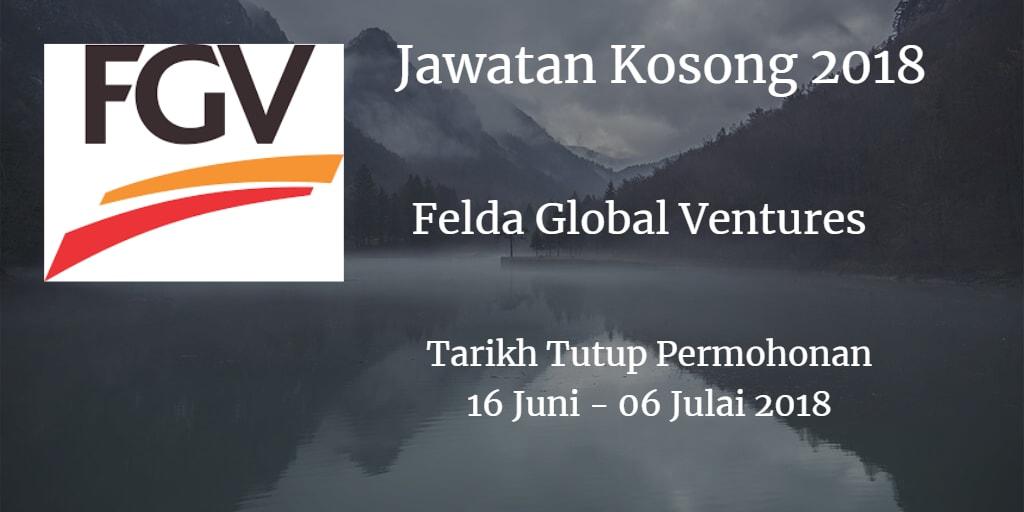 Jawatan Kosong FGV 16 Jun - 06 Julai 2018