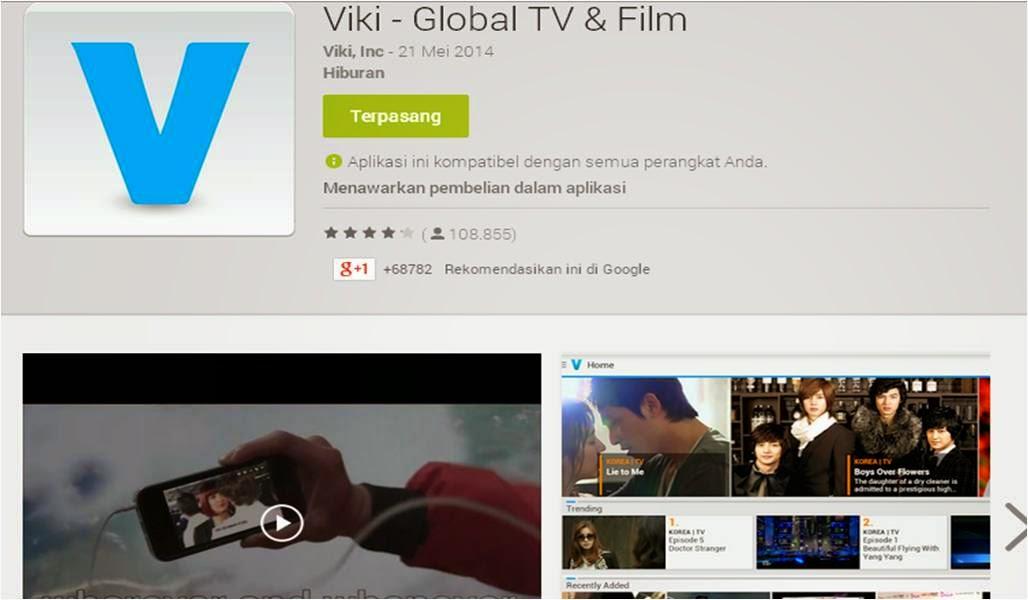 Aplikasi Nonton Drama Korea di Android