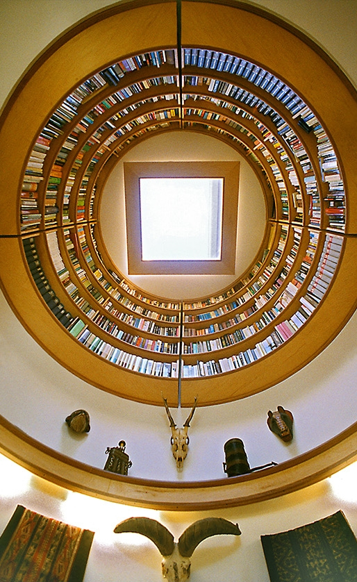 03-Travis-Price-Architecture-in-Writing-Studio-with-Dome-Shaped-Library-www-designstack-co