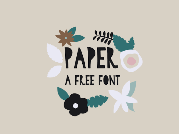 Download A Paper Cut Font Free