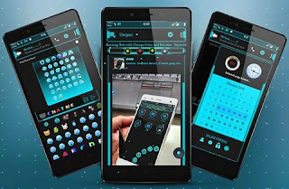 Download BBM Chat Me Blue Light V3.0.1.25 Apk Terbaru