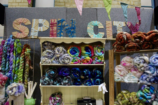 The London Knitting and Stitching Show 2016