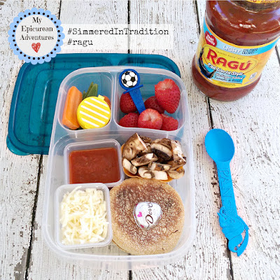 Pizza Lunchables #simmeredintradition #ragu http://bit.ly/RaguSimmeredInTradition