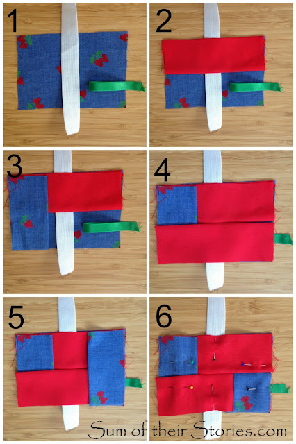 simple to make pocket pack tissue holder