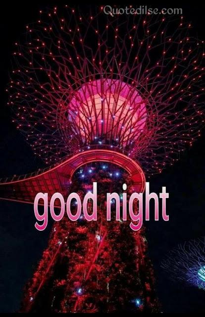 good night sms hindi