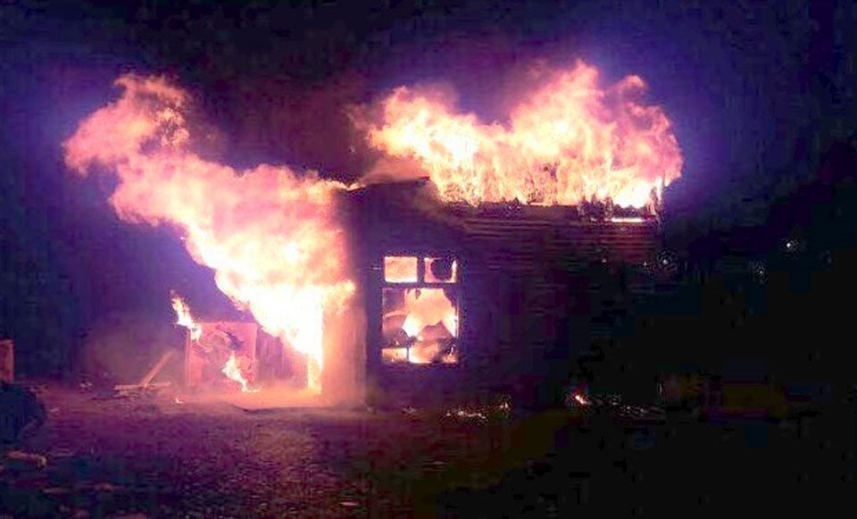 Dos incendios de viviendas