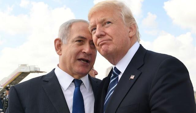 Donald Trump dan Benjamin Netanyahu Berciuman, Ini Buktinya