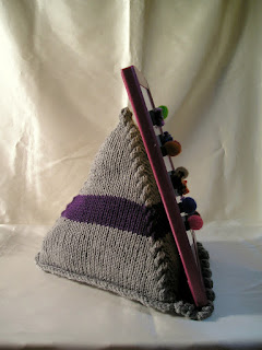 knitted pyramid prop