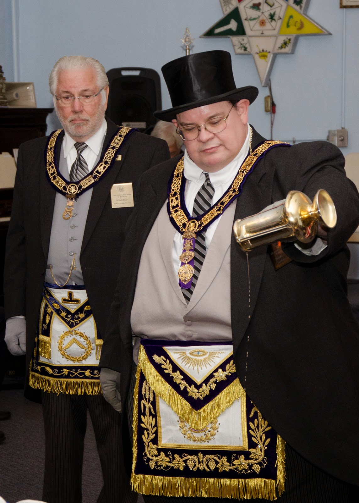 Past) Grand Master of Masons in Michigan - Yooper Style: Parma Re