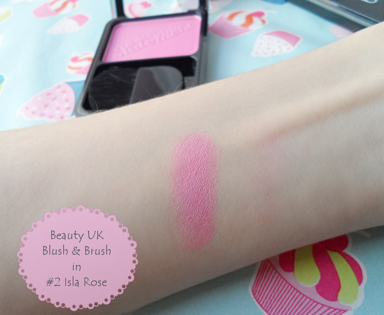 Beauty UK cosmetics review Beauty UK Blush & Brush Review and Swatches liz breygel january girl