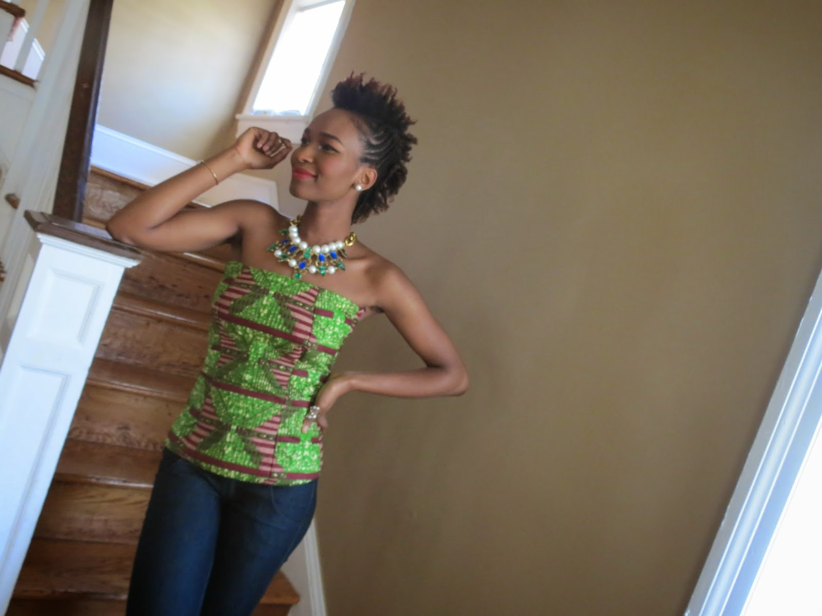 My Style Oasis, Ankara Bustier Top
