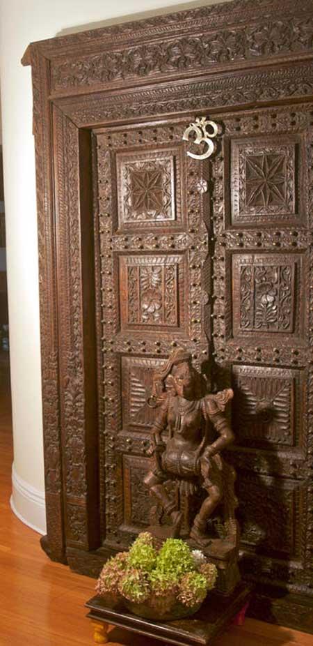 Latest Pooja Room Door Frame And Door Design Gallery Wood Design Ideas