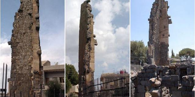 بعد أن كان آيلاً للسقوط ترميم برج الأجراس ,وآثار السويداء تشكو قلّة الفنيين والمهندسين.