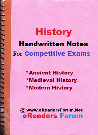 PDF] Indian History Handwritten Notes For Competitive Exams [Full+