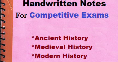 PDF] Indian History Handwritten Notes For Competitive Exams