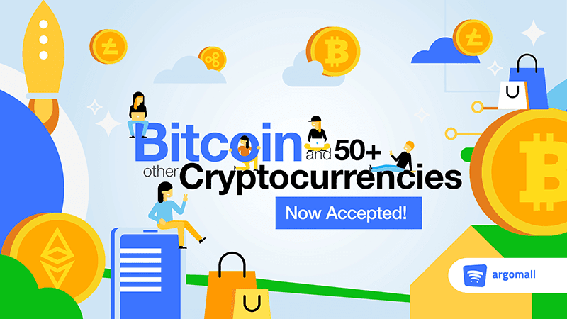 Over 50 cryptocurrency is supported!