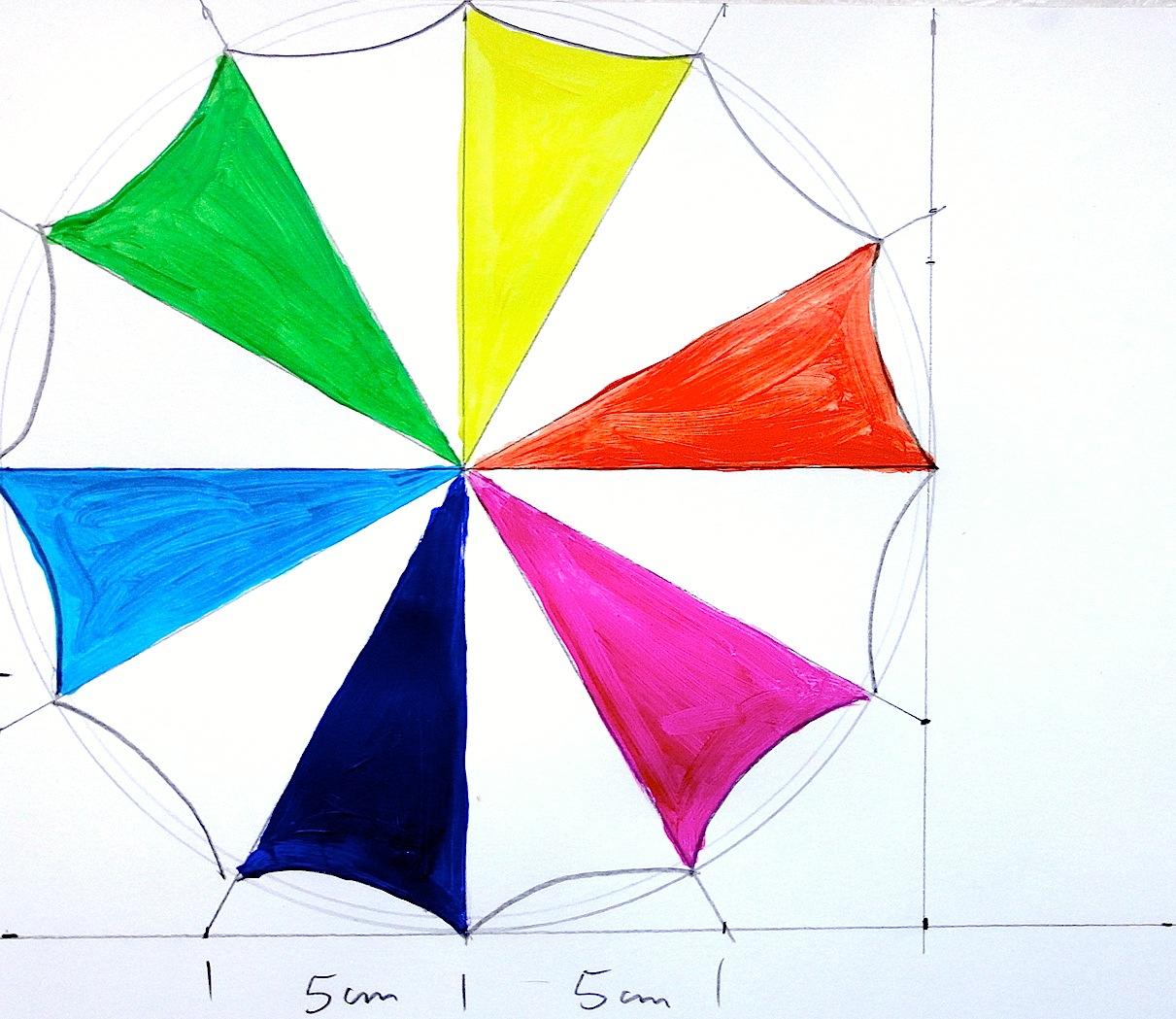 Arteascuola A Rainbow Umbrella